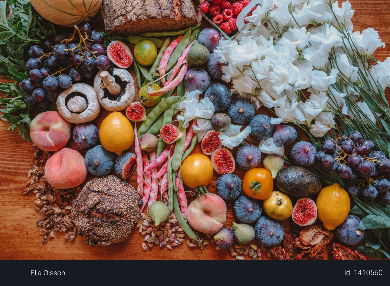 Flatlay Photography of Fruits Photo