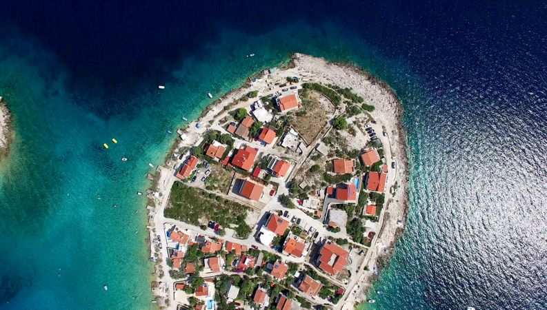 Aerial Photo Of Buildings In Croatia