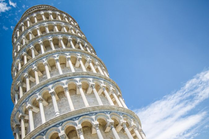 Ancient Architecture The Leaning Tower Of Pisa