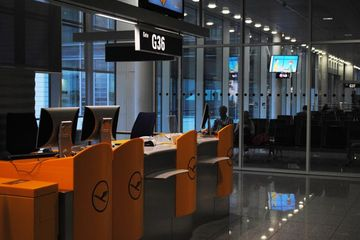 Munchen Airport At Night Time Shoot