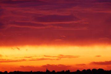 Sunset Scene Stock Images
