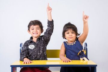 Kids In Classroom Shoot