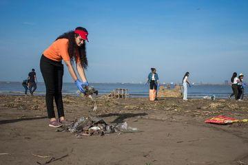 Dumas Beach Cleanup Shoot