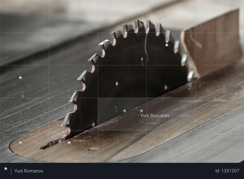 Circular saw, table saw crosscut lade Photo
