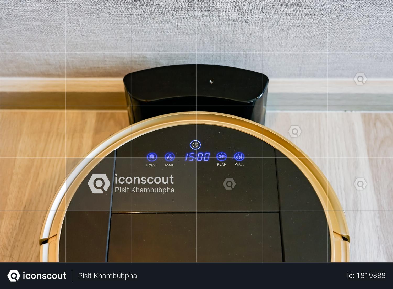 Premium Robotic Vacuum Cleaner On