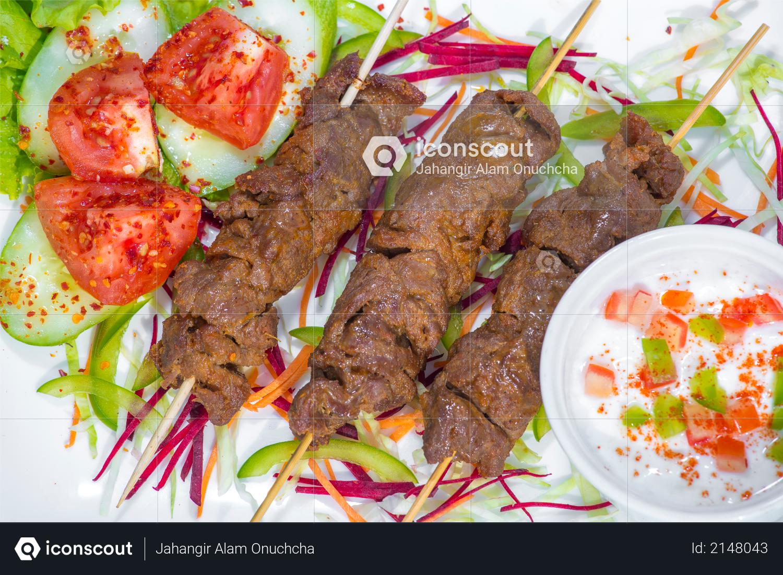 Sheek Kebab traditionally strong authentic kebab Photo