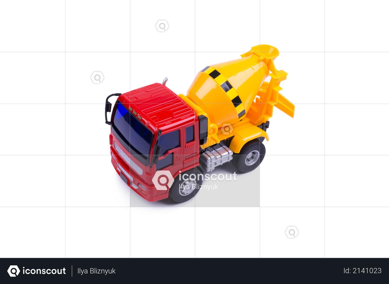 Toy concrete truck Photo