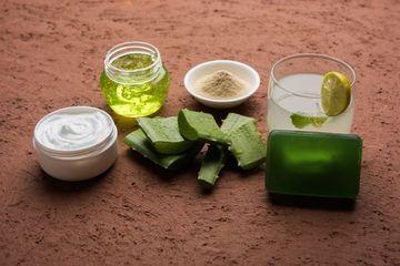 Aloe Vera Products Shoot