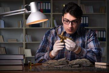 Archaeologist Shoot