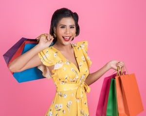Shopaholic Girl Shoot