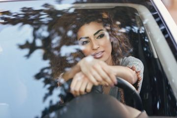 Modeling Photography In Car Stock Images