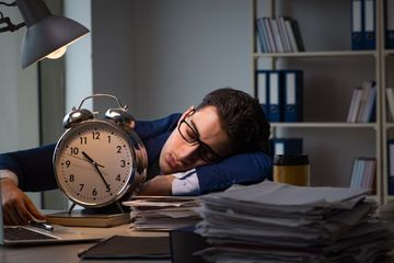 Office Workload Stock Images
