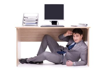 Working Desk Stock Images
