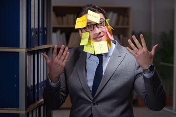 Stressed Businessman Shoot
