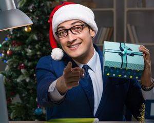 Working On Christmas Shoot