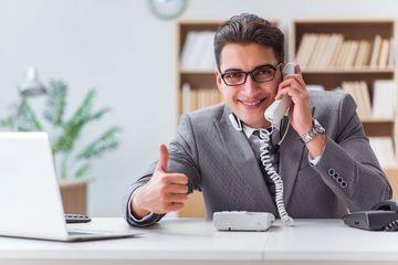 Call Center Operator Shoot