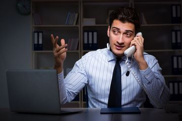 Customer Support Assistant Stock Images
