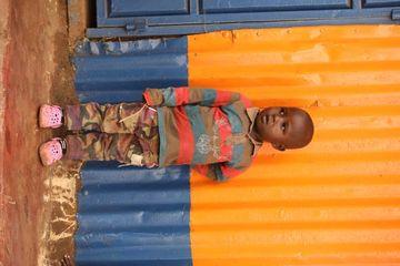 Children In A Slum Area Nairobi Kenya Africa Shoot