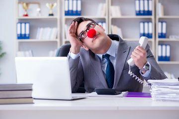 Businessman In Office Shoot