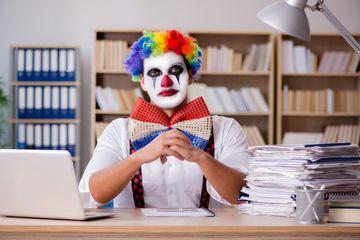 Employee As Joker Shoot