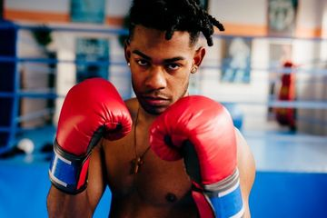 Boxing Boy Shoot