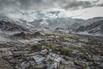 Leh, Ladakh - The Land Of High Passes Stock Images