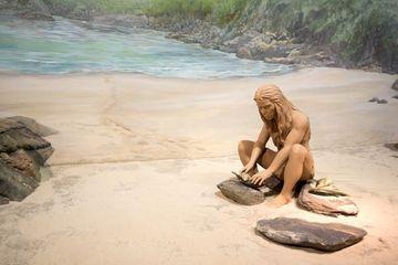 Early Human Display At The Hong Kong Museum Shoot