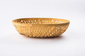 Empty Cane Basket Or Tokri Or Topli Shoot
