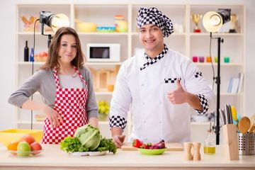 Cooking Guidance Stock Images