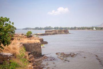 Glory Of Ruins, Kolaba Fort, Alibag, Raigad, Maharashtra, India, Southeast Asia. Shoot