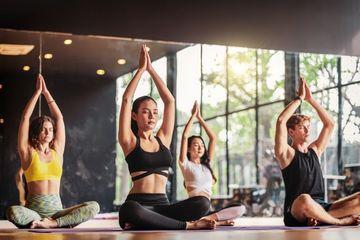 Yoga And Meditation Shoot