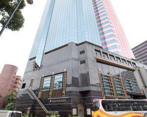 HONG KONG - DECEMBER 6, 2015: View Of Modern Skyscrapers In Downtown Hong Kong, On December 6, 2015 Shoot