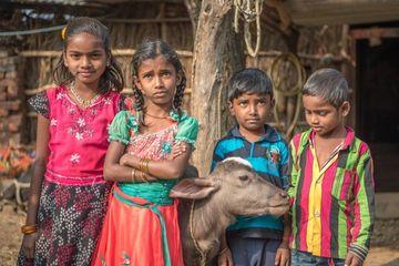 Rural Village Kids Shoot