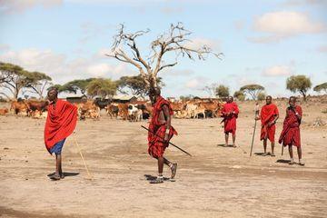 Masai Tribes Masai Mara Kenya Africa Shoot