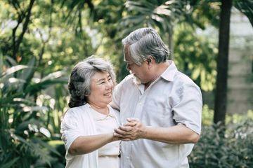 Elderly Couple Shoot