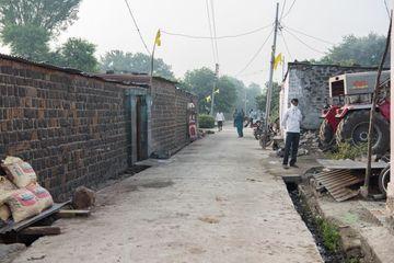 People Daily Lifestyle In Rural Village Salunkwadi Shoot