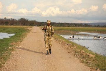 Security Police Kenya Africa Shoot