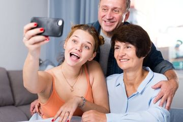 Family Lifestyle Stock Images