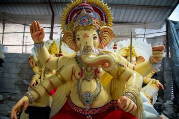 Statue Of Hindu God Ganesha Shoot