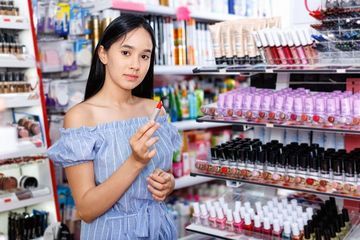 Cosmetics Store Stock Images