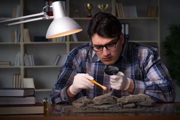 Archaeologist Stock Images
