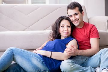 Couple Becoming Family Shoot