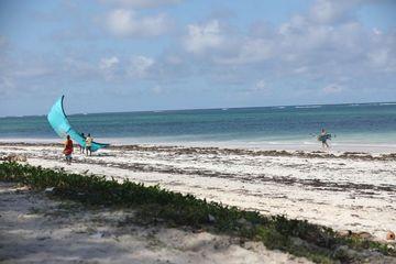 Tourists In A Beach Nairobi Kenya Africa Shoot
