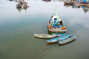 Traditional Fishing Boats At Backwater Shoot