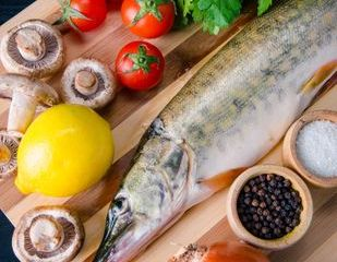 Cooked Fish Stock Images