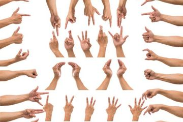 Hand Gesture Stock Images