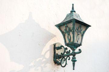 Vintage Brass Lamp Shoot