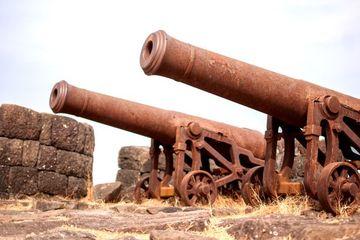 Cannon On Kolaba Fort Shoot