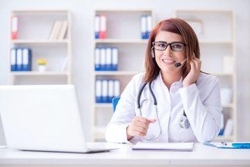 Woman Doctor Shoot