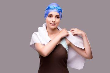 Woman Swimmer Shoot